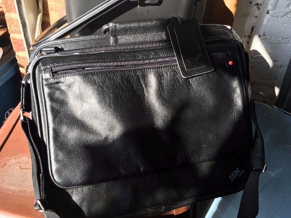 Laptop bagin Harrow, LondonGumtree - Laptop bag £15 Laptop bag, black Brand new, 100% Leather. Padded. X15 available. Surplus to business requirements. Quick sale required as moving abroad