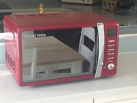 NEW Red Microwave - Russell Hobbs model RHMD702R/C