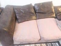 4 seater, corner sofa