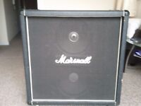 2 x 12 Marshall Cab - vintage, signed by Jim Marshall