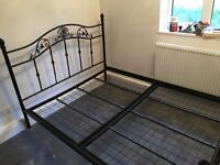King-size Cast Iron Bed