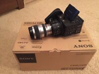 Sony FS100 nex & 18-200 nex A-mount lens - Mint condition