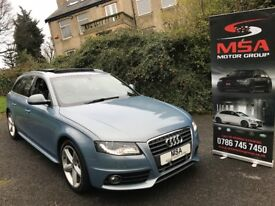 ~SOLD~ AUDI A4 AVANT S LINE £8K OF EXTRAS FULL AUDI HISTORY 2.0 TDI B8 Estate diesel