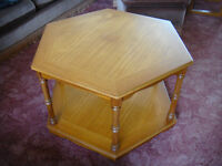 Hexagonal Coffee Table maximum 80 cm at widest point