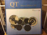 QT Drum Silencer Set