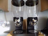 New Boxed Twin Cereal Dispenser