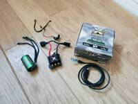 Castle Combo Mamba Monster X 6s Esc and Castle 1512-2650kv Motor. Rc Car Truck Truggy.