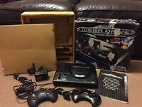 Sega Mega drive Boxed with 2 games very good condition