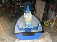 brand new 7ft plywood dinghy tender (gnome stays home)