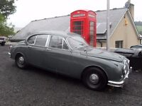 WANTED CLASSIC JAGUARS AND DAIMLERS from mint to projects