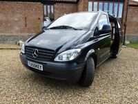 MERCEDES VITO, BULLET PROOF 2.1 CDI ENGINE, OCT 2005 MODEL, JUST 73000 miles, and NO VAT TO PAY !!!!