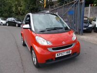 Smart Fortwo 1.0 Pulse 2dr AWESOME COLOUR £30. TAX YEAR
