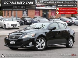 2006 Lexus IS 250 - Low KMs! Amazing Condition! We FINANCE!
