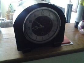Mantle time piece.
