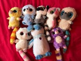 8 Yoohoo Cuddly Toys