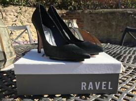 Ravel Pony Skin High Heels size 8 but realistically a 7