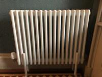 600H x 786W 3 column, 17 sections white radiator