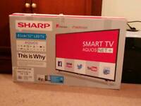 Sharp Aquos - smart TV full hd 32 inch led tv with freeview-hd