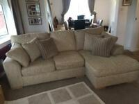 Next Stamford Corner Chaise Sofa & Snuggle Chair