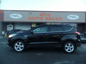 2013 Ford Escape SEL, LEATHER, ECOBOOST, 4x4