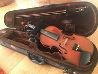 Stentor half size Violin with Shoulder Rest
