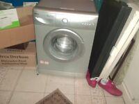 silver beko 6kg washing machine in good working order