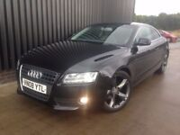 2008 Audi A5 1.8 TFSI Sport 2dr 12 Month MOT, Recently Serviced & Timing Chain Done, 1Month Warranty