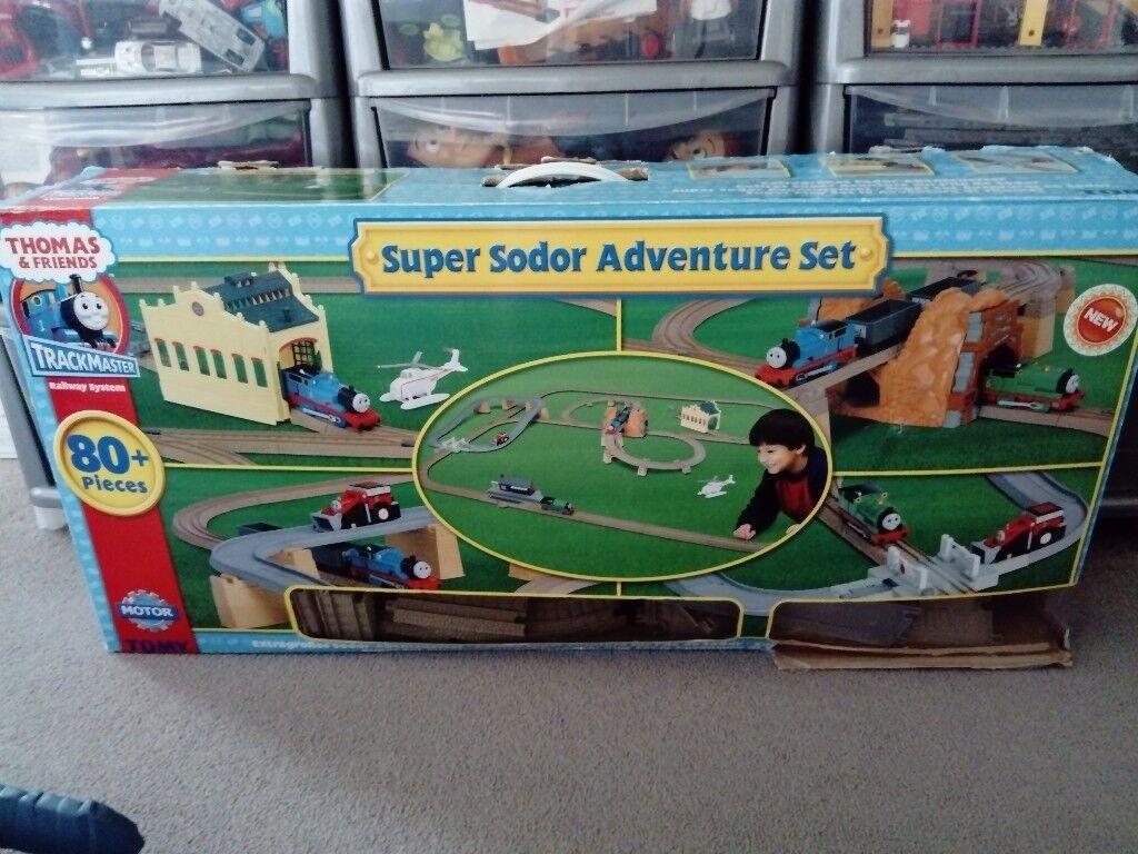 Thomas Trackmaster Super Sodor Adventure set