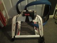 Bicycle Turbo Trainer Elite Qubo Power Smart B+ is a Magnetic Drive with tyres and inner tubes