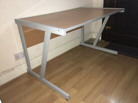 Large Wooden Office Desk / Study Table - Excellent