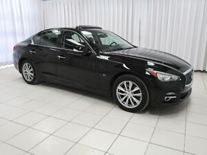 2014 Infiniti Q50 AWD PREMIUM PACKAGE WITH NAVIGATION, ALLOYS, S