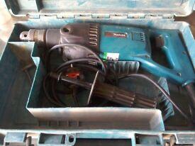 Makita 240 volt core drill