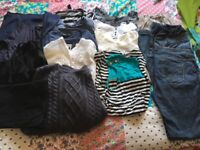 Maternity clothes bundle, size 14/Medium