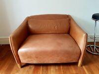 2 seater Leather Sofa y John Lewis