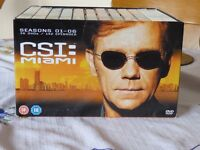 CSI MIAMI BOX SET SEASONS 01-06