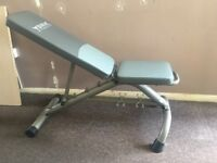 NEW - perfect condition - YORK FITNESS GYM BENCH