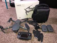 Mavic Pro 4K Drone and Accessories Kit