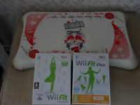 Nintendo Wii Fit and Wii Fit Plus
