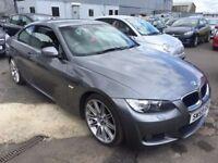 BMW 3 Series 2.0 320i M Sport Highline 2dr£8,295 p/x welcome 1 YEAR FREE WARRANTY. NEW MOT