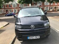 Vw transporter T5 Rhino roof rack with roller