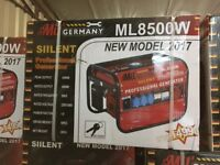 !! BRAND NEW SILENT PROFESSIONAL MILL GERMAN GENERATOR FOR SALE !!