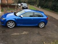 Audi S3, stunning blue, great condition
