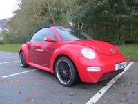 very rare customised volkswagen beetle convertible with full service history