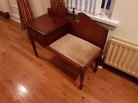 Rossmore mahogany phone table