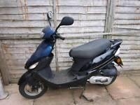 Limited 50cc moped