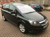 Vauxhall Zafira Exclusive 1.6 Petrol 12 Months MOT HPI Clear