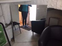 Frameless Mirror Free to Anyone who can collect today