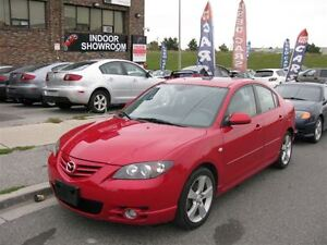 2004 Mazda MAZDA3 AUTO!!! FULLY LOADED!!! GT!!! LEATHER+ROOF!!!