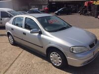 1999 Vauxhall astra 1.6 petrol with MOT till June 2017