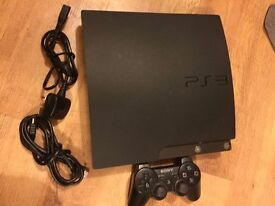 Sony PS3 Slim Console & 4 games